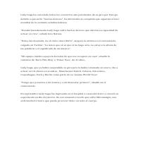 Translation Spanish to English Sample 2