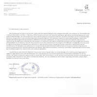 Libertas Group International LLC Reference Letter