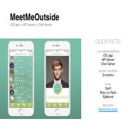 MeetMeOutside (iOS + Web apps)