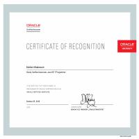 Oracle Java Cerification