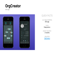 OrgCreator (iOS)