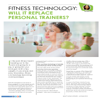 What's New in Fitness Digital Magazine