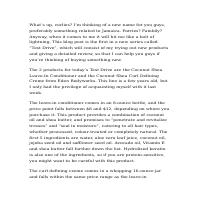 Article Writing Sample 1