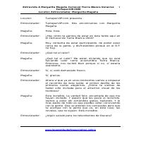 Spanish Transcription Sample