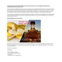Smoothies recipe health & wellness