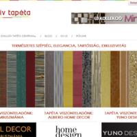 Joomla based tapestry dealer website