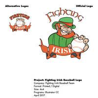 Logo design for baseball team