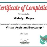 VA Training- Completion Cert