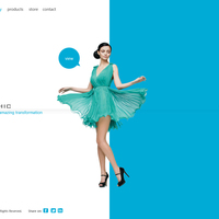 Stay Chic (Web layout)
