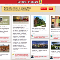 Joomla based hotel pinboard similar to Pinterest