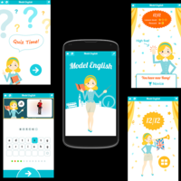 Educational app, English For Beginners, Android