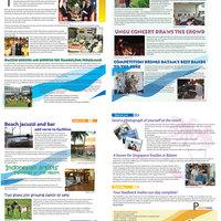 Beach resort newsletter