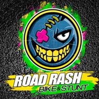 RoadRash Bike and Stunt Team Logo Illustration