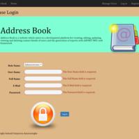 Address Book Website Login