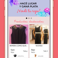 Design and development of the Renueva tu Closet App