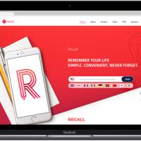 Landing Page: Recall
