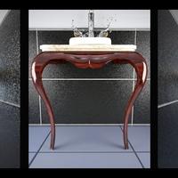 Photorealistic render of a bathroom for a furniture designer
