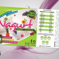 Nagurt Label Design