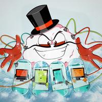 Cloud Computi Digital illustration