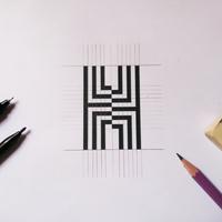 Logo design for LH.