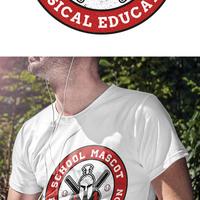 School T-Shirt Spartan Team