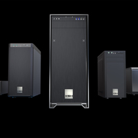 Advertising render of the workstation product range of the B