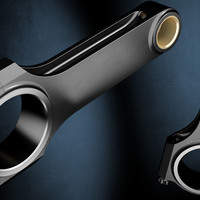 Engine parts 3D render