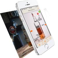 Inventory Bar, mobile app, Alcohol measurement, iOS
