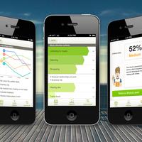 Stress less, mobile app