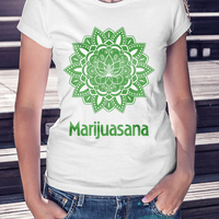 Cannabis Yoga -shirt