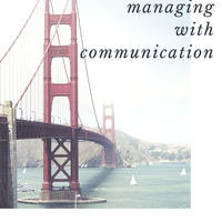 Managing With Communication.A book for managers.