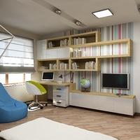 Digital Interior Design Illustration