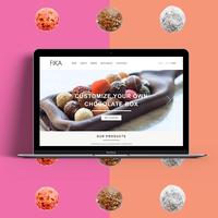 WordPress website for Fika.