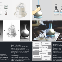 Basys - Kettle Concept design for Philips