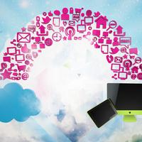 Cloud computing 3d Comp