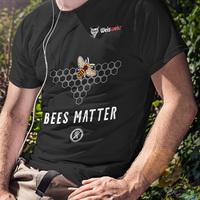 Bees matter t-shirt presentation