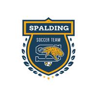 Spalding Soccer Team Logo