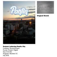 Lettering Design Panting