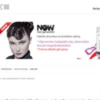 Joomla based hair care dealer productsite
