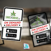 SavetheDrive Store Entry Decal
