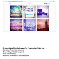 Presentationfolders.ca Social Media Posts