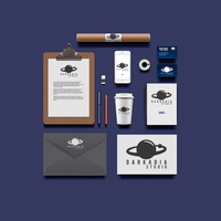 Darkaia - Corporate identity