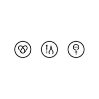 XJewellery store icon set