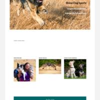 Sites I've built: Boise Dog Sports