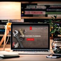 WordPress website for Flow Plumbing Masters Plumbing.