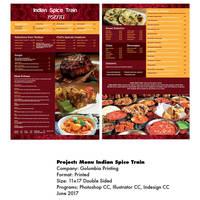 Menu Indian Spice Train