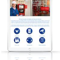 Responsive Website on Tablet